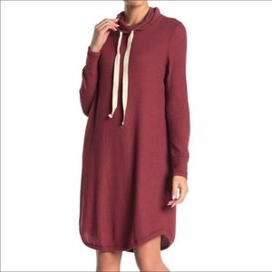 Cowl neck Sweater dress from Susina